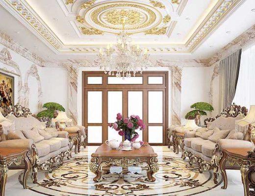 trang trí phòng khách nhà ống 5m
