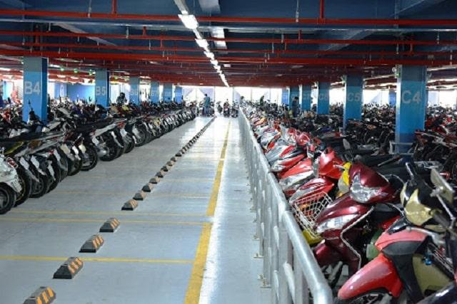 Kích thước bãi đỗ xe máy (1)