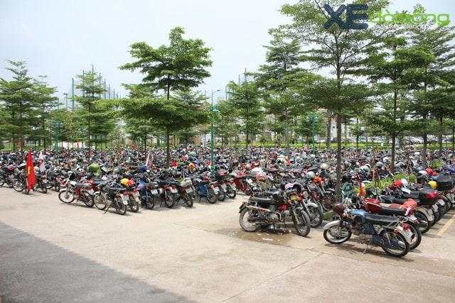 Kích thước bãi đỗ xe máy (2)