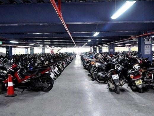 Kích thước bãi đỗ xe máy (3)