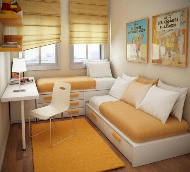 thiết kế phòng ngủ nhỏ 10m2 (2)