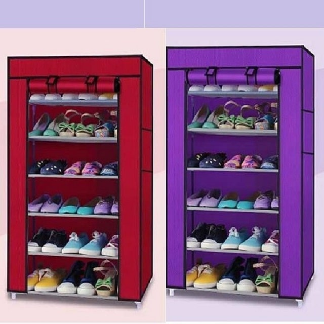 tủ đựng giày dép bằng vải (1)