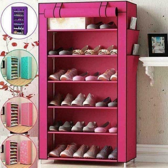 tủ đựng giày dép bằng vải (2)